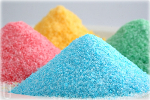 How To Make Colored Sugar For Baking  